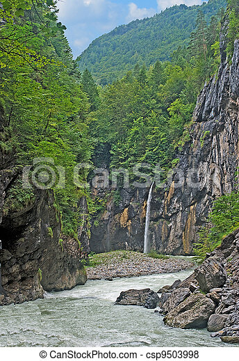 River at Alps - csp9503998