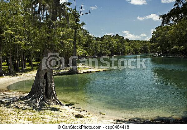 River Beach - csp0484418