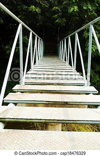 River Bridge - csp18476329