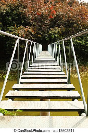 River Bridge - csp18502841