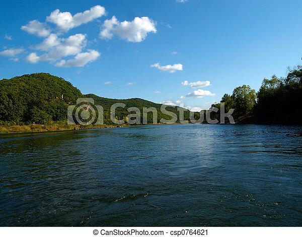 river landscape - csp0764621
