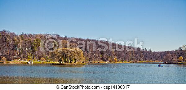 river Landscape - csp14100317
