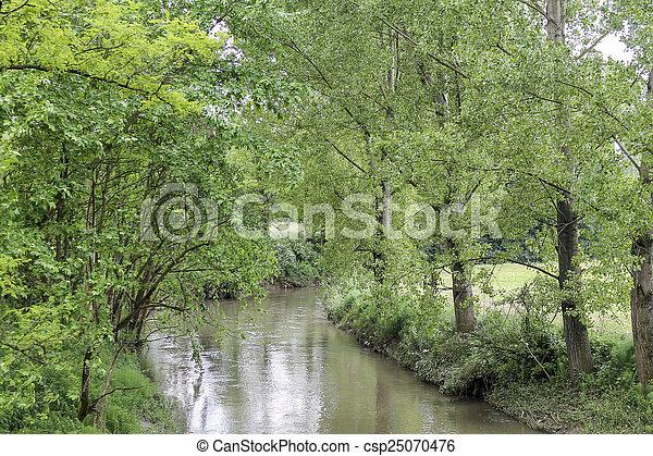 river landscape - csp25070476