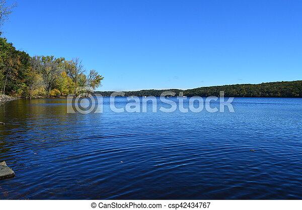 River Landscape - csp42434767