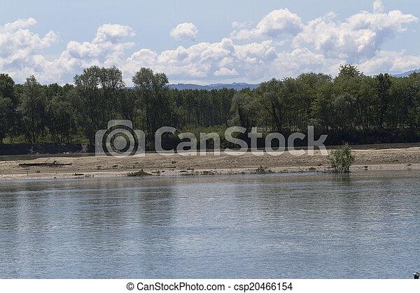 river landscape - csp20466154