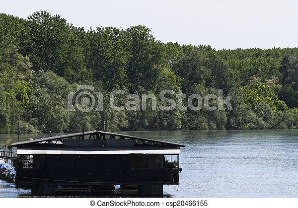 river landscape - csp20466155