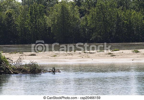 river landscape - csp20466159
