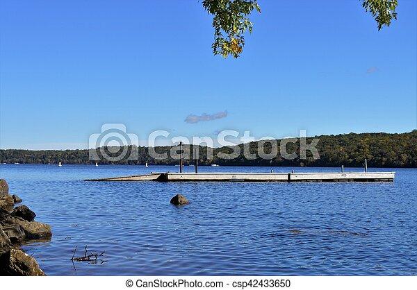 River Landscape - csp42433650