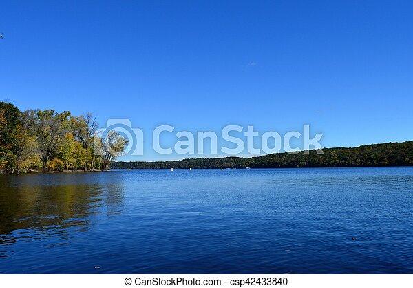 River Landscape - csp42433840