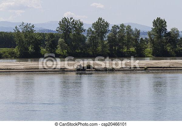 river landscape - csp20466101