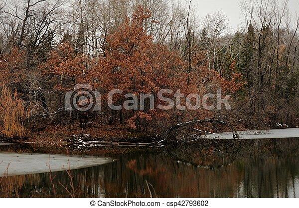 River Landscape - csp42793602