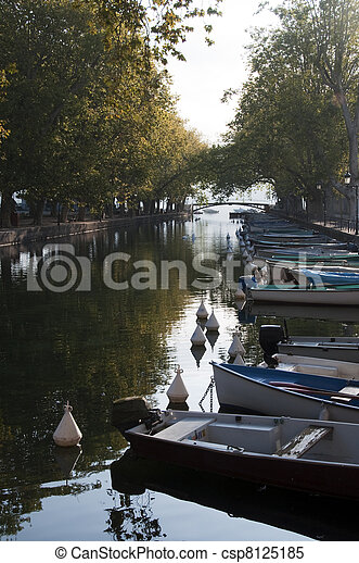 River of Thiou and Annecy lake - csp8125185