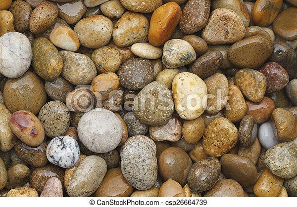River Rocks - csp26664739