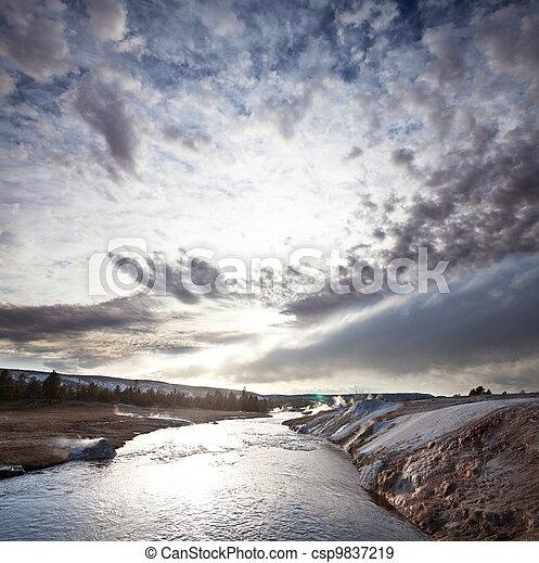 River - csp9837219