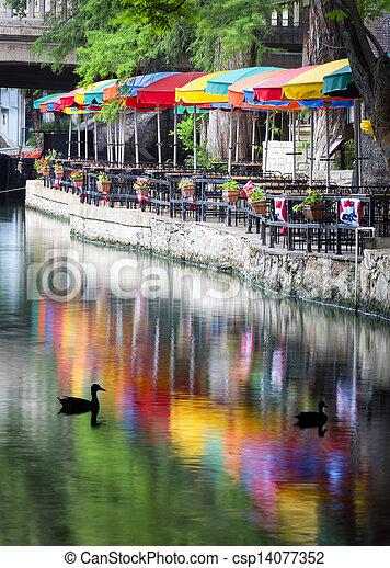 riverwalk, サン・アントニオ - csp14077352