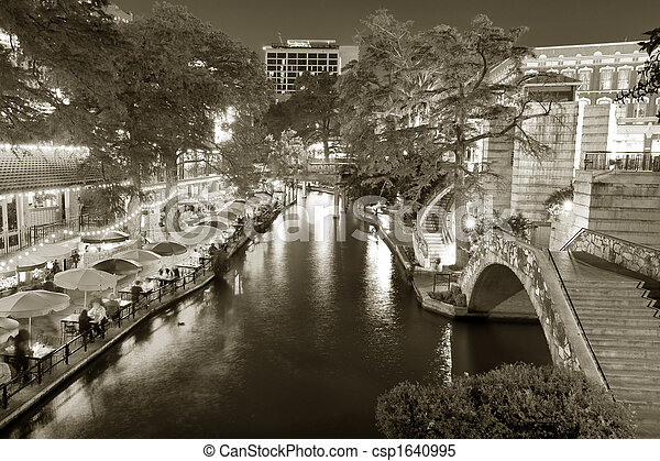 riverwalk, サン・アントニオ - csp1640995