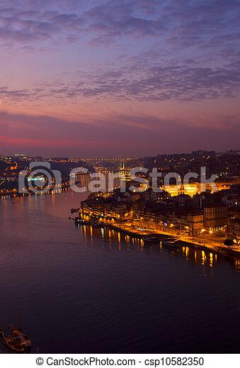 rivière, porto, portugal, douro - csp10582350