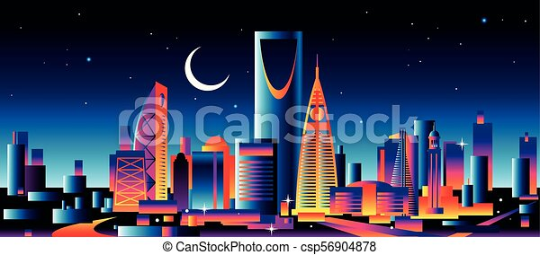 Riyadh Saudi Arabia - csp56904878