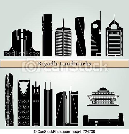 Riyadh V2 Landmarks - csp41724738