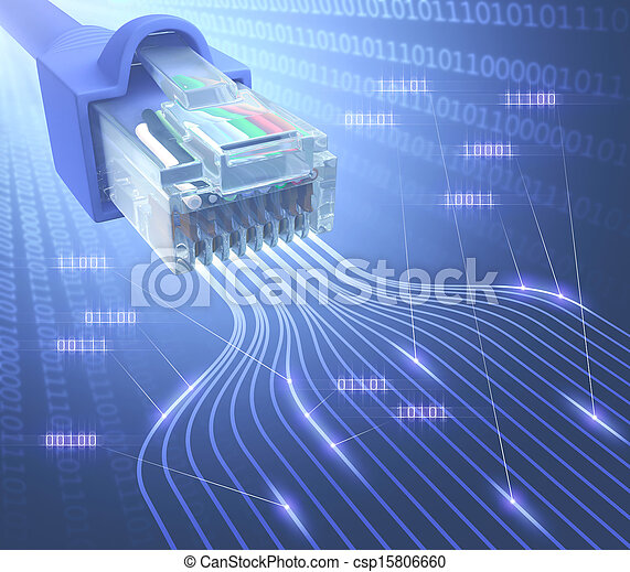 RJ45 Network Binary - csp15806660