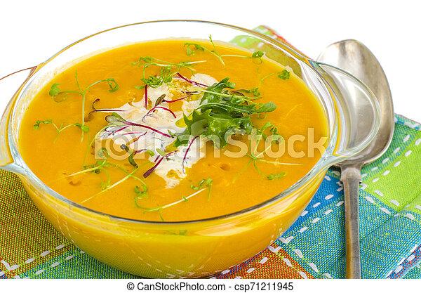 roślina, zdrowy, soup., jadło, śmietanka - csp71211945