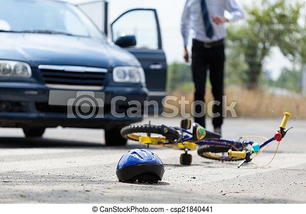 Road accident - csp21840441