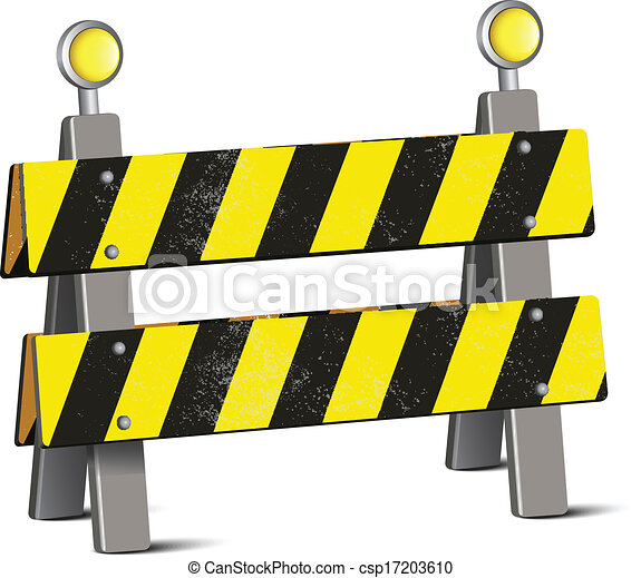 Road Barrier  - csp17203610