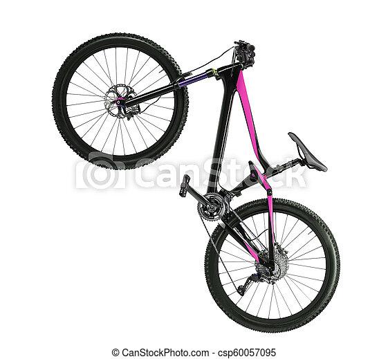 road bike isolated - csp60057095