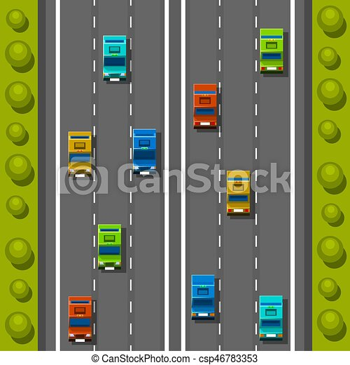Road Cars Background Traffic Jam On The Road Road Transportation