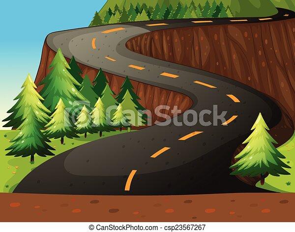 Road - csp23567267
