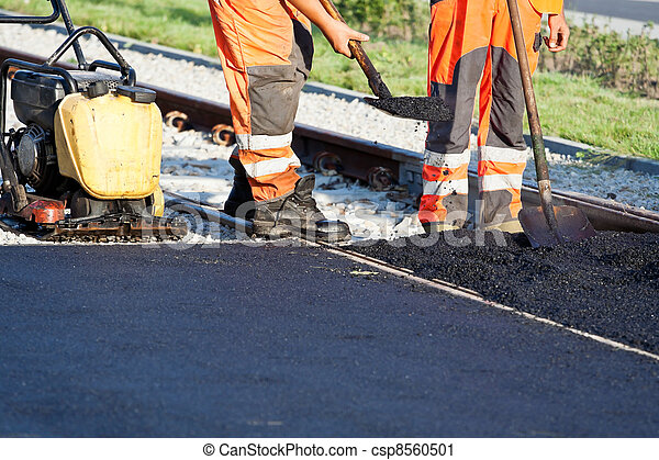 Road construction - csp8560501