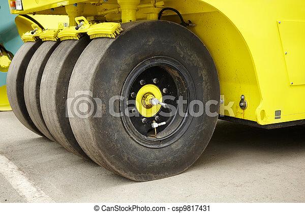 Road Construction - csp9817431