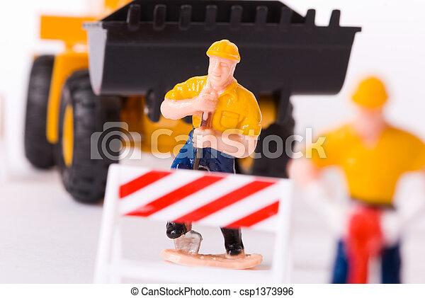 road construction - csp1373996