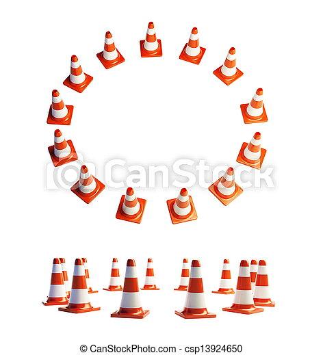 road construction - csp13924650