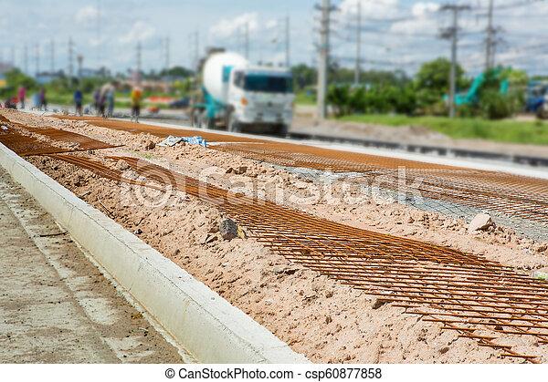 Road construction - csp60877858