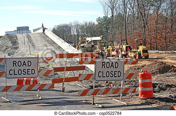 Road Construction - csp0522784