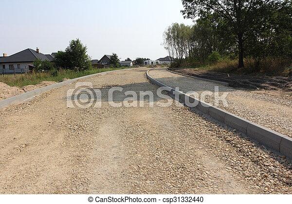 road construction - csp31332440