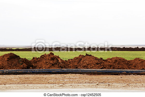 Road construction - csp12452505