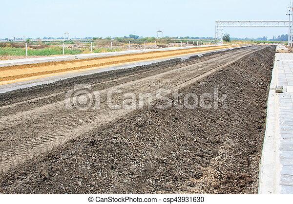 Road construction - csp43931630