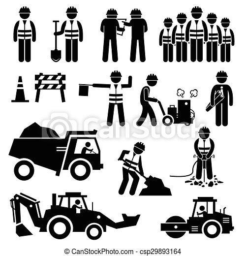 Road Construction Worker - csp29893164