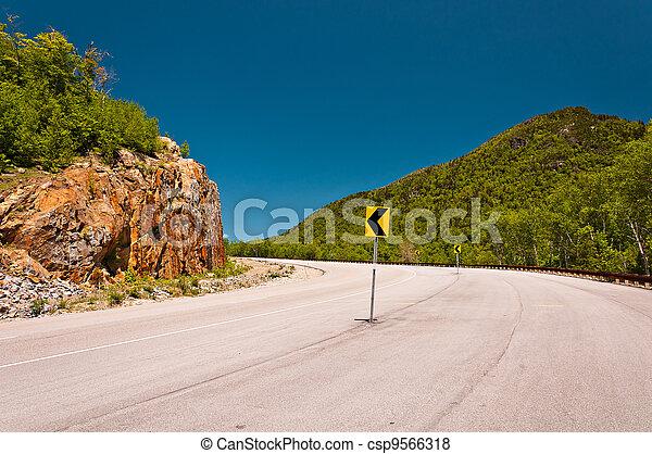 road corner - csp9566318
