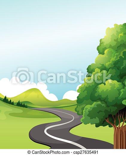 Road - csp27635491
