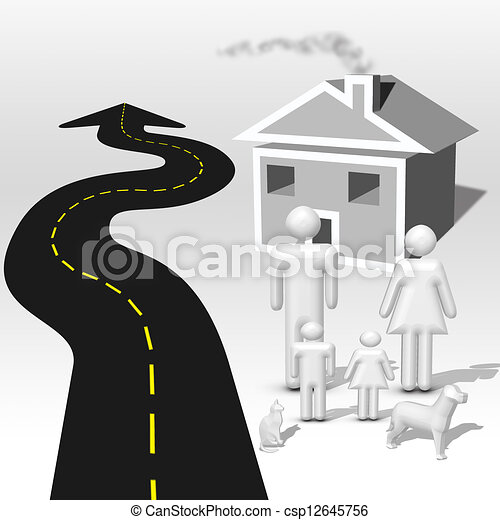 Road Home - csp12645756