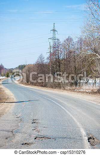 Road in the countryside - csp15310276