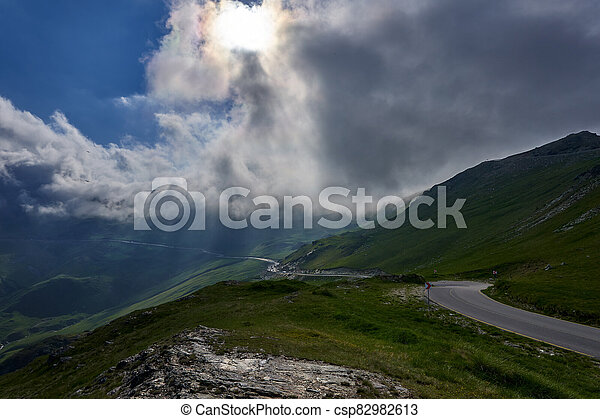 Road in the mountains - csp82982613