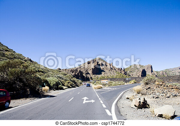 road in the mountains - csp1744772