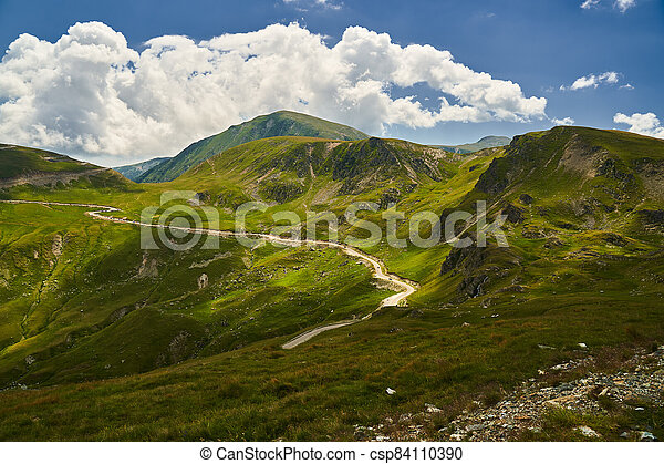 Road in the mountains - csp84110390