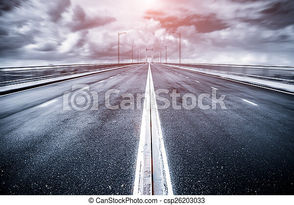 road in vietnam - csp26203033