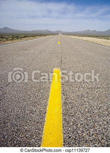 Road Less Traveled - csp11139727