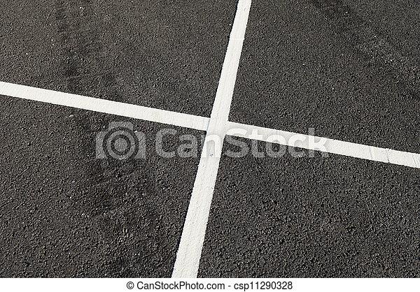 Road marks - csp11290328